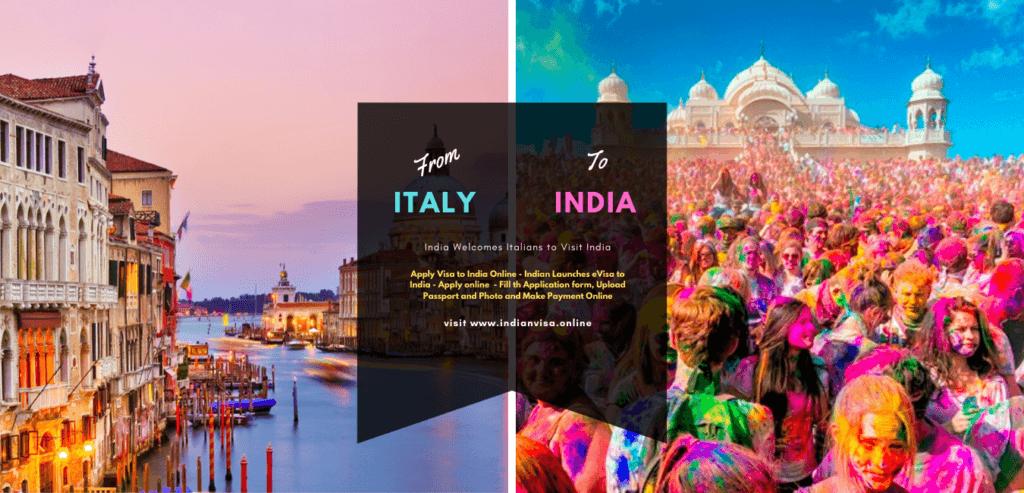 e visa India from Italy